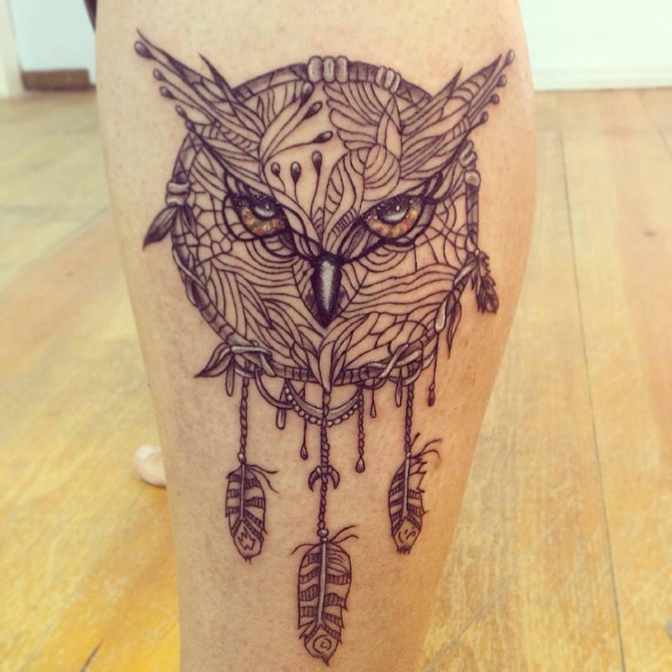 mocho caça sonhos tattoo