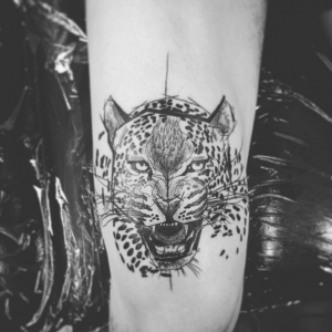 tatuagem original jaguar