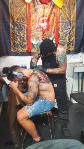 Minimal ink vai Barcelona Tattoo convention