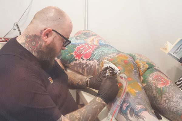 Minimal ink vai Barcelona Tattoo convention