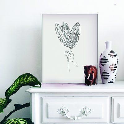 loja_online_site_arte_Botanical_Poster_Leaf_Plants_01